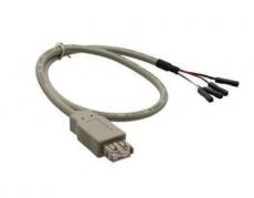 USB Kabel intern 40cm, mit A-Buchse