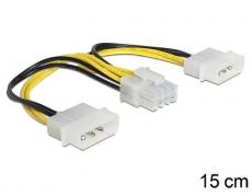 Kabel Stromversorgung 2x5.25 auf 1xEPS 8Pol