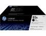HP Toner 85A - Black 2er-Pack (CE285AD)