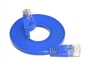 Wirewin Slim Patchkabel: UTP, 0.25m, blau