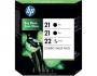 HP Combopack Nr. 21 +  21 + 22 (SD400AE)