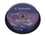 Verbatim DVD+R Medien 4.7GB, 16x,10 Spindel